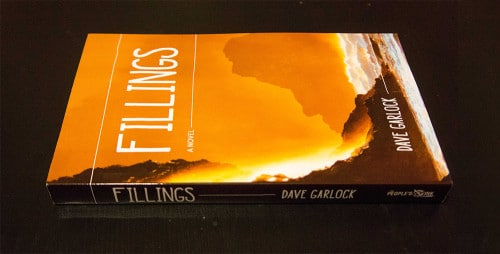 Fillings book cover we designed and photographed