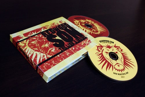 CD and CD jacket we designed for Redwood Son