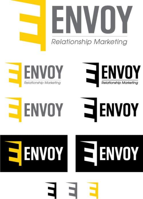 Variations on Envoy's logo
